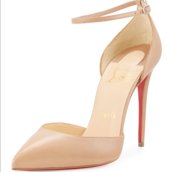 3b02d015d5 Christian Louboutin Shoes | Louboutin Never Worn Uptown 100 Nappa In ...